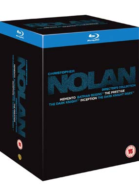 Christopher Nolan Director's Collection (6 film) (Blu-ray) (BD) - Klik her for at se billedet i stor størrelse.