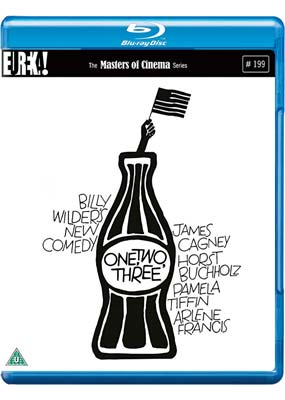 One, Two, Three (Masters of Cinema) (Blu-ray) (BD) - Klik her for at se billedet i stor størrelse.