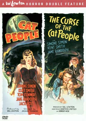 Cat People  / The Curse of the Cat People (2 film) (DVD) - Klik her for at se billedet i stor størrelse.