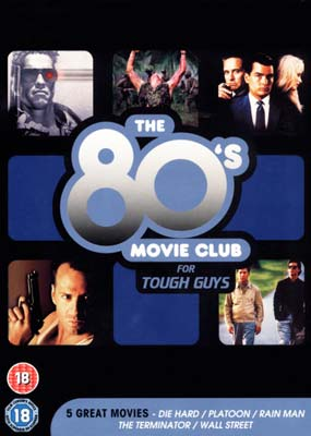 80's Movie Club for Tough Guys, The (5 film) (DVD) - Klik her for at se billedet i stor st�rrelse.
