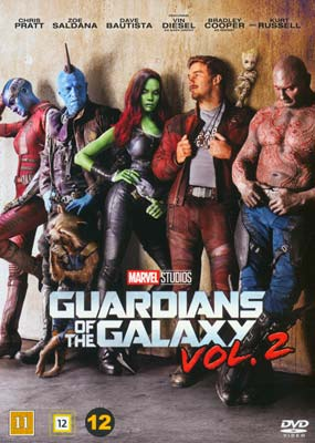 Guardians of the Galaxy, Vol. 2   (DVD) - Klik her for at se billedet i stor størrelse.