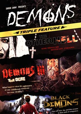 Demons Triple Feature (3-pack) (DVD) - Klik her for at se billedet i stor st�rrelse.