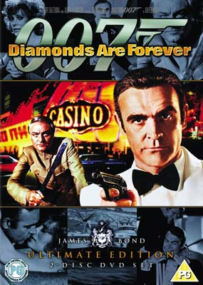 Diamonds Are Forever: Ultimate Edition (2-disc) (DVD) - Klik her for at se billedet i stor størrelse.