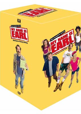 My Name is Earl:  The Complete Series (4-pack) (DVD) - Klik her for at se billedet i stor størrelse.