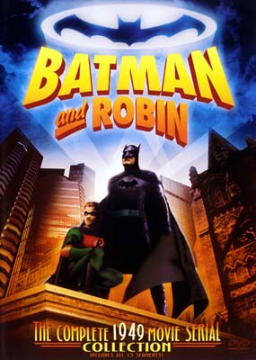Batman and Robin: Complete Movie Serial (2-disc) (DVD) - Klik her for at se billedet i stor størrelse.