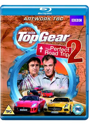 Top Gear: The Perfect Road Trip 2 (Blu-ray) (BD) - Klik her for at se billedet i stor størrelse.
