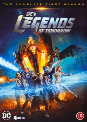 DC's Legends of Tomorrow:  Season   1 (4-disc) (DVD) - Klik her for at se billedet i stor størrelse.