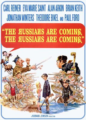 Russians Are Coming! The Russians Are Coming!, The  (DVD) - Klik her for at se billedet i stor størrelse.