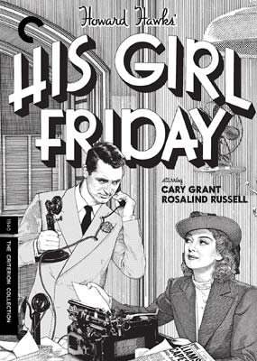 His Girl Friday (Criterion) (DVD) - Klik her for at se billedet i stor størrelse.