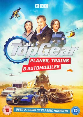 Top Gear: Planes, Trains and Automobiles  (DVD) - Klik her for at se billedet i stor størrelse.