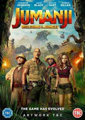 Jumanji: Welcome to the Jungle  (DVD) - Klik her for at se billedet i stor størrelse.