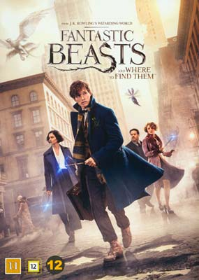 Fantastic Beasts and Where to Find     Them  (DVD) - Klik her for at se billedet i stor størrelse.