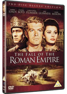 Fall of the Roman Empire,  The (2-disc) (DVD) - Klik her for at se billedet i stor størrelse.