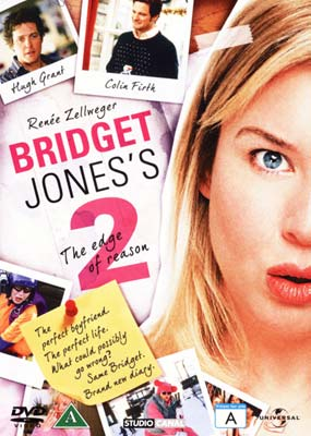 Bridget Jones 2: The Edge of  Reason  (DVD) - Klik her for at se billedet i stor størrelse.