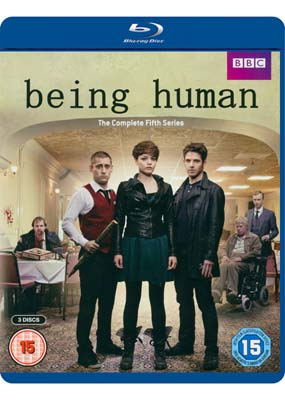 Being Human: Series  5 - The Final Series (Blu-ray) (BD) - Klik her for at se billedet i stor størrelse.