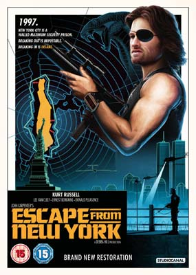 Escape from New York (New Restoration)  (DVD) - Klik her for at se billedet i stor størrelse.
