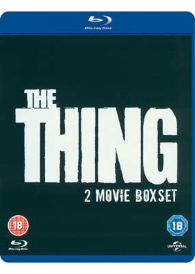 Thing, The (2 Movie Box Set) (Blu-ray) (BD) - Klik her for at se billedet i stor størrelse.