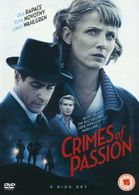 Crimes of Passion (6 film) (3-disc) (DVD) - Klik her for at se billedet i stor størrelse.