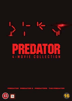 Predator: 4-Movie Collection  (DVD) - Klik her for at se billedet i stor størrelse.