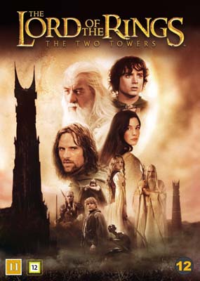 Lord of the Rings, The: The Two Towers - Theatrical Cut  (DVD) - Klik her for at se billedet i stor størrelse.