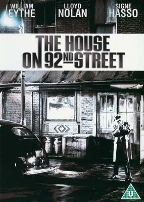 House on 92nd Street, The  (DVD) - Klik her for at se billedet i stor størrelse.