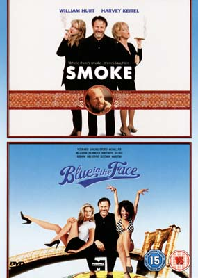 Smoke / Blue in the Face  (DVD) - Klik her for at se billedet i stor st�rrelse.