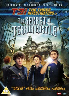 Three Investigators and the Secret of Terror Castle, The  (DVD) - Klik her for at se billedet i stor størrelse.
