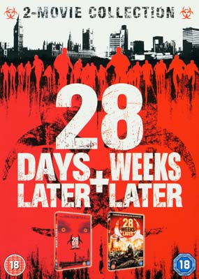 28 Days Later + 28 Weeks Later (2 film) (DVD) - Klik her for at se billedet i stor størrelse.