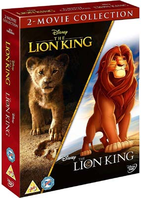 Lion King, The: 2-Movie Collection  (DVD) - Klik her for at se billedet i stor størrelse.