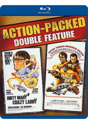 Dirty Mary, Crazy Larry / Race with the Devil (Blu-ray) (BD) - Klik her for at se billedet i stor størrelse.