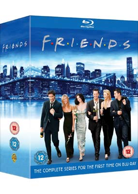 Friends Collection: The Complete Series (21-disc) (Blu-ray) (BD) - Klik her for at se billedet i stor størrelse.