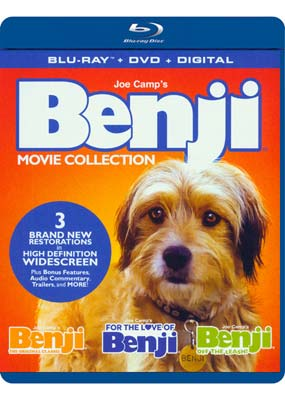 Benji Movie Collection (3 film) (Blu-ray & DVD) (BD) - Klik her for at se billedet i stor størrelse.