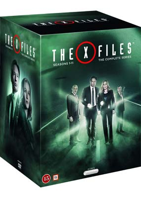 X-Files, The: Seasons 1-11 (65-disc)  (DVD) - Klik her for at se billedet i stor størrelse.