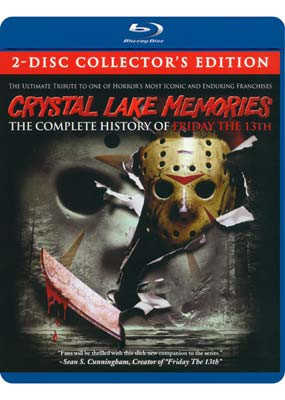 Crystal Lake Memories: The Complete History of Friday the 13th (2-disc) (Blu-ray) (BD) - Klik her for at se billedet i stor størrelse.