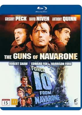 Guns of Navarone, The / Force 10 from Navarone (Blu-ray) (BD) - Klik her for at se billedet i stor størrelse.