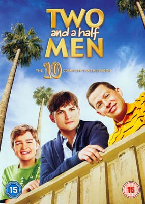 Two and a Half  Men: Season  10 (3-disc) (DVD) - Klik her for at se billedet i stor størrelse.