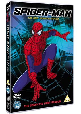 Spider-Man: The New Animated  Series (2-disc) (DVD) - Klik her for at se billedet i stor størrelse.