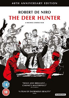 Deer Hunter, The: 40th Anniversary  (DVD) - Klik her for at se billedet i stor størrelse.