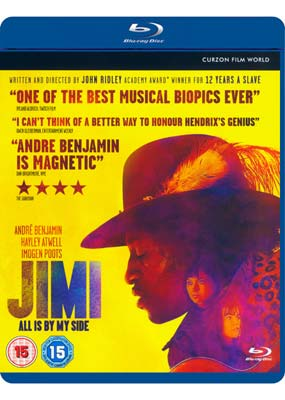 Jimi: All Is by My Side (Blu-ray) (BD) - Klik her for at se billedet i stor størrelse.