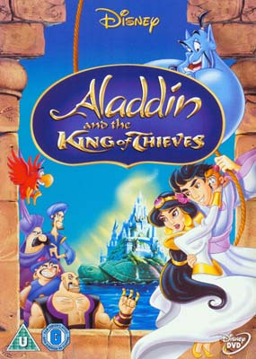 Aladdin and the King of Thieves  (DVD) - Klik her for at se billedet i stor størrelse.