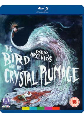 Bird with the Crystal Plumage,   The (Remastered) (Blu-ray) (BD) - Klik her for at se billedet i stor størrelse.