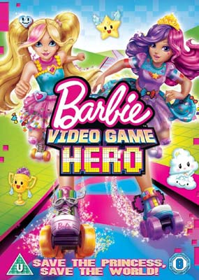 Barbie: Video Game Hero  (DVD) - Klik her for at se billedet i stor størrelse.