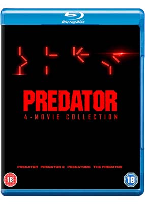 Predator: 4-Movie Collection                     (Blu-ray) (BD) - Klik her for at se billedet i stor størrelse.