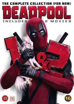 Deadpool: The Complete Collection (For Now)  (DVD) - Klik her for at se billedet i stor størrelse.