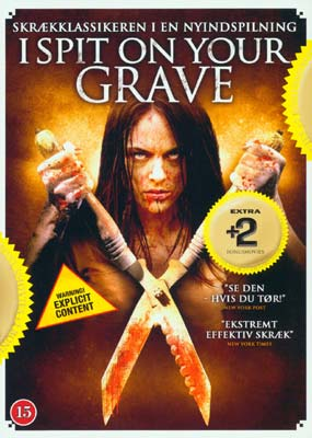 I Spit on Your Grave / The Thompsons / House of the Rising Sun  (DVD) - Klik her for at se billedet i stor størrelse.