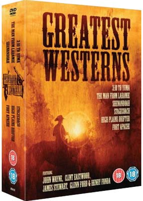 Greatest Westerns Collection (6 film) (DVD) - Klik her for at se billedet i stor størrelse.