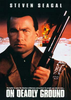 On Deadly Ground (Warner Archive) (DVD) - Klik her for at se billedet i stor størrelse.