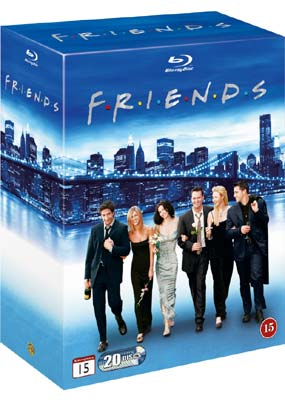 Friends Collection: The Complete Series (20-disc) (Blu-ray) (BD) - Klik her for at se billedet i stor størrelse.