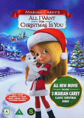 Mariah Carey's All I Want for Christmas Is You  (DVD) - Klik her for at se billedet i stor størrelse.