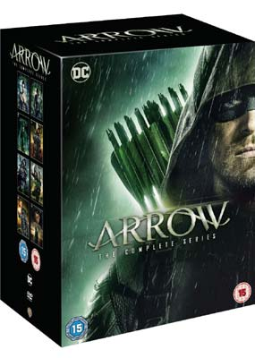 Arrow: The Complete Series (38-disc) (DVD) - Klik her for at se billedet i stor størrelse.